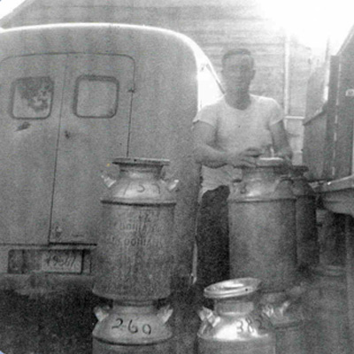 In 1960, Caledonia Haulers Purchased Spring Grove Milk Route