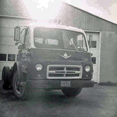 In 1965, Caledonia Haulers Purchased New Ford Semi Tractor