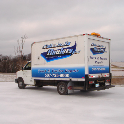 In 1982, Caledonia Haulers Started Customer Repair Shop