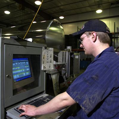 In 2003, Caledonia Haulers Got New Internet Based Software for the Maintenance Department