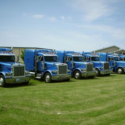 In 2004, Caledonia Haulers Purchased 26 New Trucks