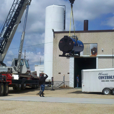 In 2012, Caledonia Haulers Continued Updates to the Milk Receiving Plant.