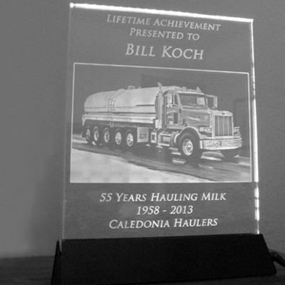 In 2013, Bill Koch Retired from Caledonia Haulers