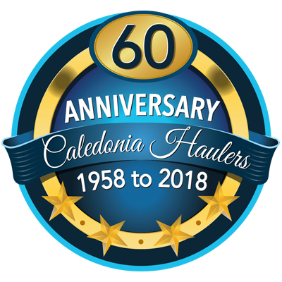 In 2018, Caledonia Haulers Celebrated Our 60th Anniversary