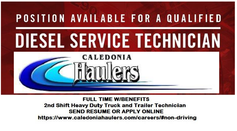 Truck Driving Careers at Caledonia Haulers: Apply Online Today