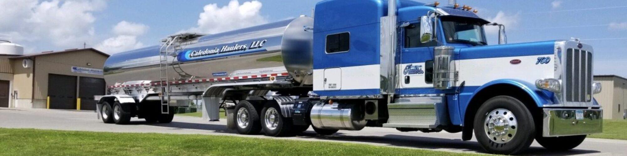 Caledonia Haulers Milk Truck